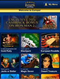 Europa Kasino Mobile