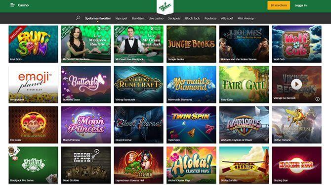 mrgreen palace slots online