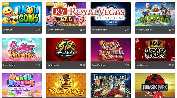 royal vegas casino spel